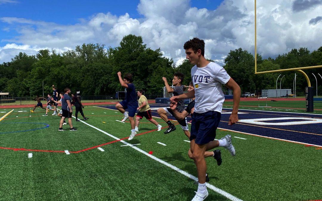 athletic performance training outside